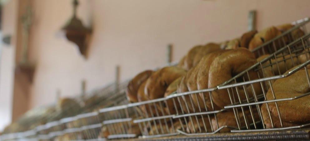 cropped bagel